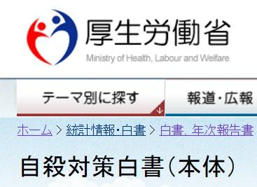 厚生労働省「自殺対策白書(平成28年度版)」に活動が載りました。