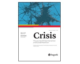 国際自殺予防協会(IASP)「Crisis」に論文が載りました