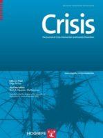 国際自殺予防協会(IASP)「Crisis」に論文が掲載